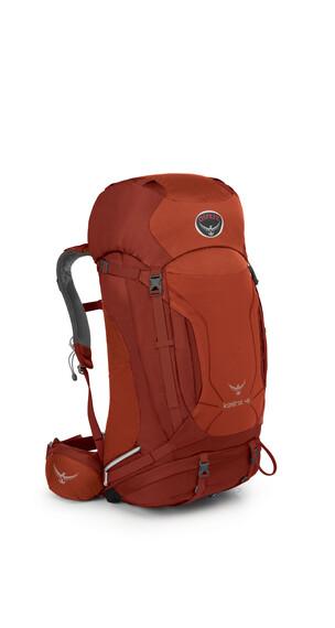 Osprey Kestrel 48 - Sac à dos randonnée Homme - rouge